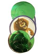 Themez Only Madagascar Theme Dangling Swirl - 3 Pcs