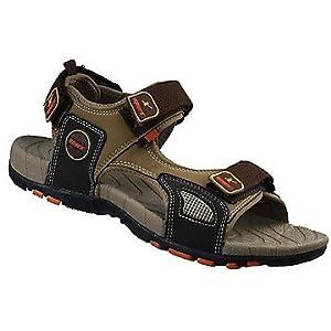 Sparx Brown Men Sandals ss604