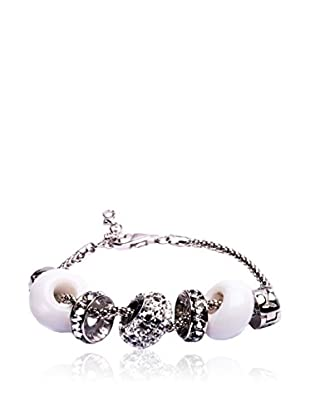SWAROVSKI ELEMENTS Pulsera Beads Transparente