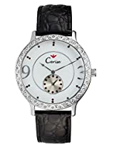 Cerise Andra Big Dial Multi Face Analogue White Dial Women's Watch - CSK1113