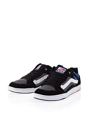 Vans Desurgent black/charcoal/white VJWTZA1 - Zapatillas de ante para hombre (Negro)