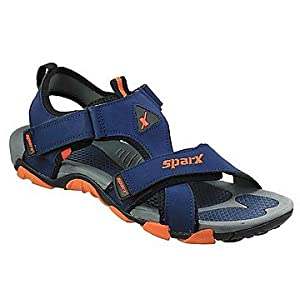 Sparx SS416 Men's Sandals-Blue