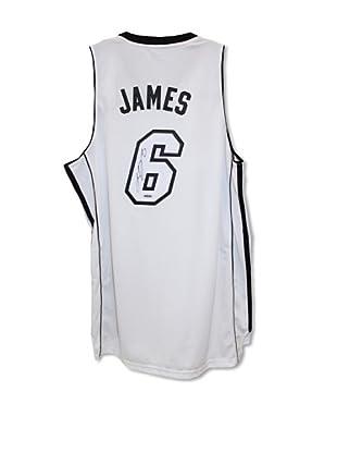 Steiner Sports Memorabilia LeBron James Miami Heat Signed Jersey