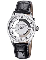 Stuhrling Original Analog Silver Dial Men's Watch - 650.01