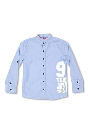 CKS Kids Camisa Cleburne (Azul)