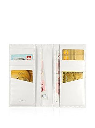 Lucrin Brieftasche PM1343_VCLS_BLN weiß