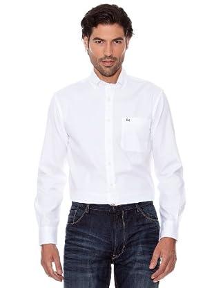 Pedro Del Hierro Camisa Oxford (blanco)