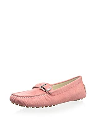 Patricia Green Women's Niki Side Buckle Moc (Coral)