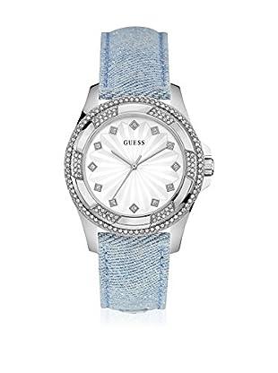 Guess Reloj con movimiento mecánico japonés Woman Pinwheel W0703L1 Plateado 39.5 mm