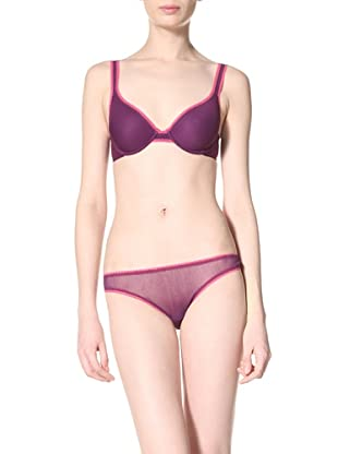 On Gossamer Women's Contour Bra (After Hours/Very Cherry)
