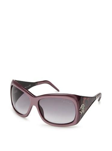 Roberto Cavalli Women's Riolite 453S Sunglasses, Violet Rose/Violet
