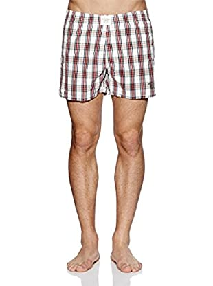 Abercrombie & Fitch Boxershorts (rot / weiß)