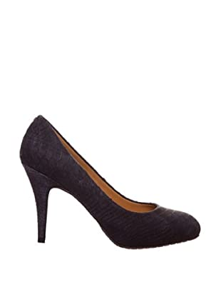 Paco Herrero Zapatos Salón Serpiente (Negro)