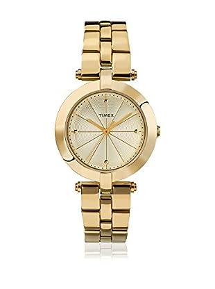 TIMEX Reloj de cuarzo Woman Greenwich Dorado 32 mm