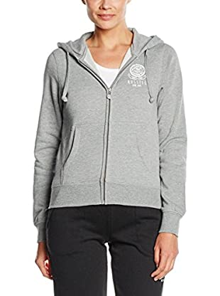 Russel Athletic Sudadera con Cierre Zip Thru Hoody Sweat