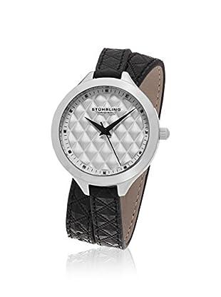 Stührling Original Women's 658.01 Vogue Analog Display Quartz Black Watch