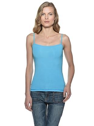 Stefanel Top (Aqua Blau)