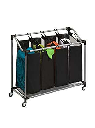 Honey-Can-Do Deluxe Quad Laundry Sorter with Mesh Bags