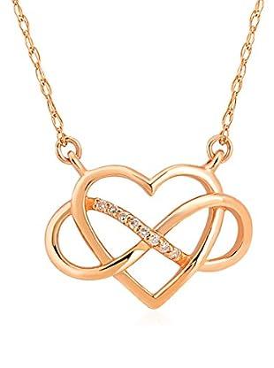 Divas Diamond Collar Diamond Infinity Heart