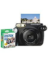 Fuji 600013665 Instax 210 Wide Camera Bundle Close-up Lens Auto Focus Black