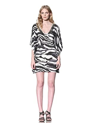 Iron Women's Animal Printed Jersey Dress (Smoke)