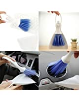 1 Set Home Computer Keyboard Car Duster Broom Cleaning Tool Brush With Dustpan