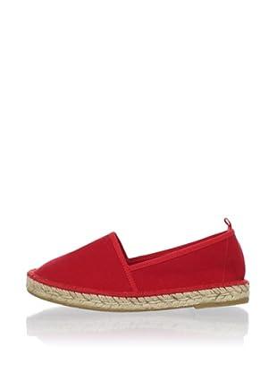 André Assous Women's Tina Slip-On Espadrille Bottom (Red)