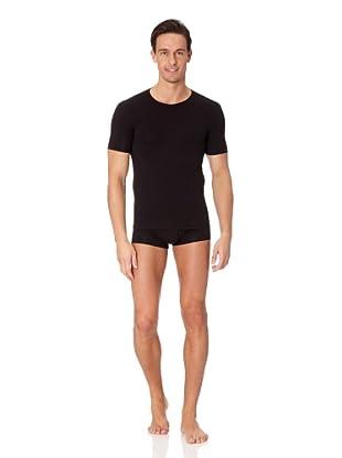 Jolidon Camiseta manga corta Hombre basic (negro)