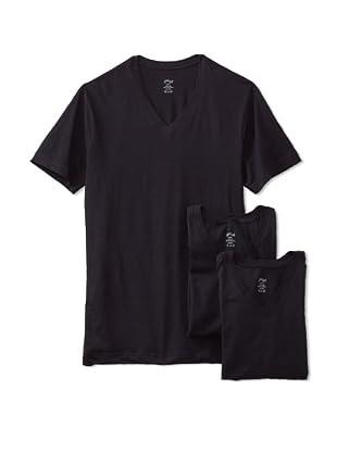 2(x)ist Men's Jersey V-Neck Tee (3-Pack)