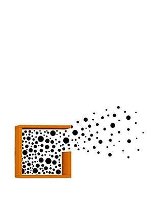 Matte Maison  Regalbrett Bubbles orange