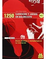 1250 ejercicios y juegos en baloncesto/ 1250 Basketball Exercices and Games