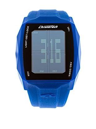 Chronotech Quarzuhr Chronotouch blau 43.5  mm