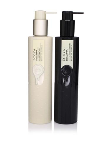 Ecoya Vanilla Bean Hand/Body Lotion and Liquid Soap, 2 Pack