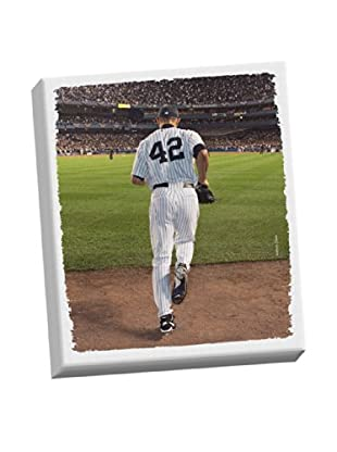 Steiner Sports Memorabilia Mariano Entering Game Stretched Canvas