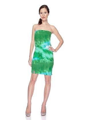 Ugli Sista Vestido 3 en 1 Batik (Verde / Turquesa)