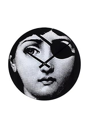 Mid-Century Girl Hacker Clock