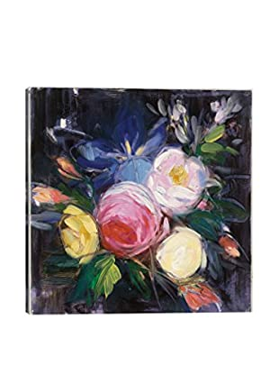Julia Purinton Floral Fun I Canvas Print