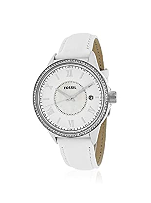 Fossil Women's BQ1109 Classic White/Mother Of Pearl Steel Watch
