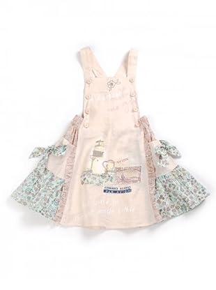 My Doll Kleid mit Latz (Rosa)
