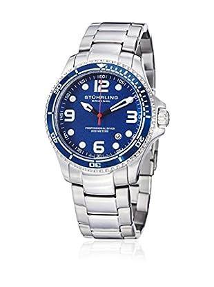 Stührling Uhr mit Schweizer Quarzuhrwerk Grand Regatta silberfarben 45 mm