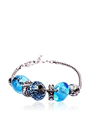 SWAROVSKI ELEMENTS Pulsera Beads Cielo