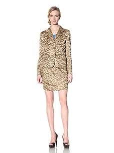 Vivienne Westwood Red Label Women's Animal Print Jacket (Tan)