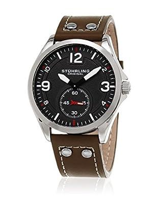 Stuhrling Uhr mit japanischem Quarzuhrwerk Man Tuskegee 684  44 mm