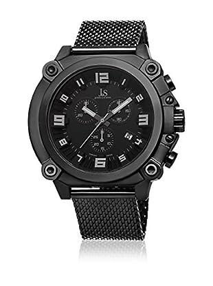 Joshua & Sons Uhr mit schweizer Quarzuhrwerk Man JS58BK 50 mm