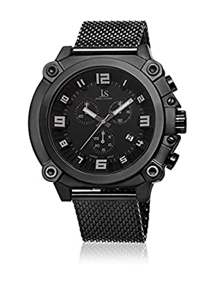 Joshua & Sons Reloj con movimiento cuarzo suizo Man JS58BK 50 mm