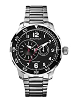 Nautica Analog Black Dial Men's Watch - A16548G