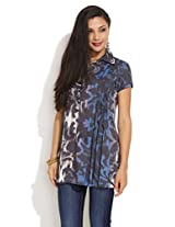 DIVA Blind Tucked Kurti, multi colour, 2l