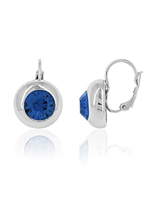 Fashion Victime Orecchini Diamond Ball chiusura a Monachella blu