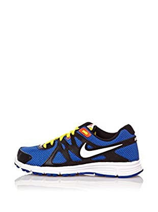 Nike Zapatillas Revolution 2 Gs (Azul / Amarillo)
