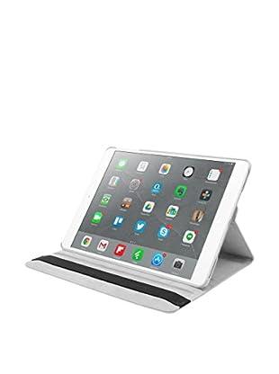 Unotec Funda De Piel Rotación Para iPad Air Blanco